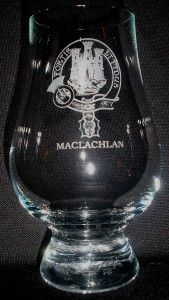 Clan MacLachlan Scotch Malt Whisky Glencairn Tasting Glass