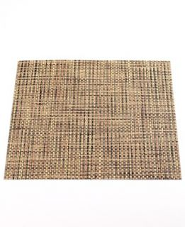 Chilewich Basketweave Woven Vinyl Placemat, Square 14 x 13