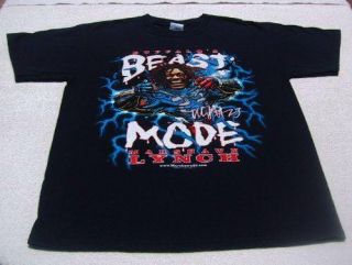 Marshawn Lynch Buffalo Bills Beast Mode Medium T Shirt