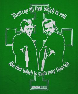 Boondock Saints Connor and Murphy MacManus Good May Flourish Cool