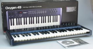 Audio Oxygen 49 USB MIDI Controller Keyboard
