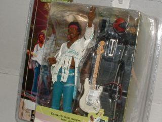Jimi Hendrix Woodstock Aug 18 1969 McFarlane Music Legend Figurine