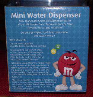 Mini Desktop Half Gallon Liquor Water Beverage Dispenser New
