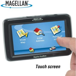 Magellan Roadmate 5045LM GPS 5 Lifetime Free Maps Traffic Alerts AAA