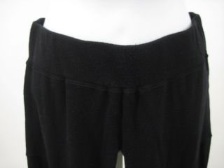 Maggie Ward Black Stretch Cropped Leggings Pants Sz M