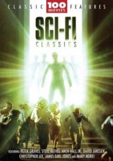 SCI FI CLASSICS~~~100 MOVIES~~~24 DVD BOX SET~~~NEW