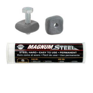 USA Magnum Steel Heavy Duty Repair Epoxy Metal Wood Plastic Glass