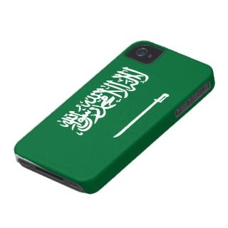 Saudi Arabia Flag iPhone 4 Case Mate Case