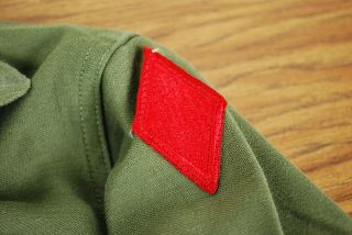 Vintage US Army Vietnam War Era Jacket With Patches Thumbnail Image
