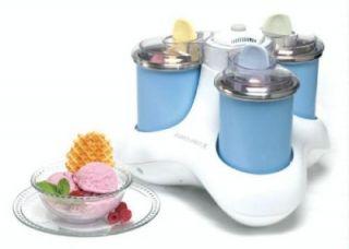 Bravetti Euro Pro Triple Scoop Ice Cream Maker New Item