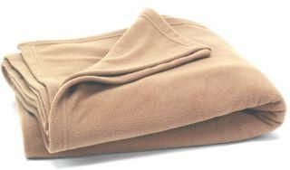 Mainstays Fleece Blanket Queen Color Acorn New