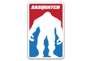 Sasquatch Decal Bigfoot Hunter Logo Major League Yetti Sticker JDM