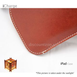 New Genuine Leather Case Protection Bag for Apple iPad 2 3 4 Mini 16GB