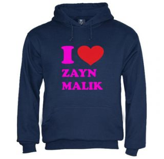 Love Zayn Malik Hoodie One Direction 1D Band Colors Teen Youth New