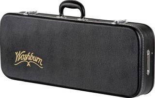 Washburn MC92 F Style Mandolin Guitar Hard Case with Plush Lined