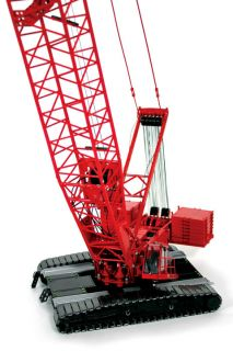 Manitowoc 16000 Crawler Crane Red High Detail by TWH
