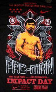 Nike Manny Pacquiao Heaven Earth T Shirt Mens s M New Dri Fit Tee Pac