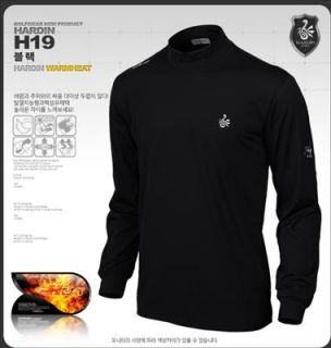 New Men Golf Shirts Apparel clothes Hot Pullover Mock Neck Thermal