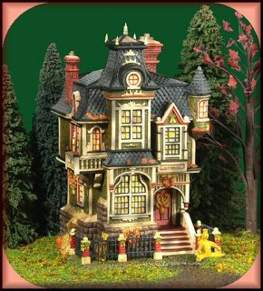 Barleycorn Manor New Department Dept 56 Dickens Village D56 DV
