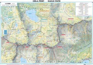 Orla Perć Mapa urysyczna Sygnaura
