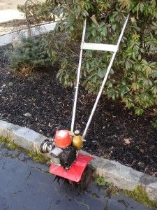 Mantis 2 Cycle Garden Tiller Cultivator