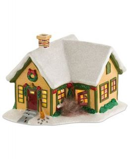 Department 56 Collectible Figurine, Peanuts Village Pig Pens House