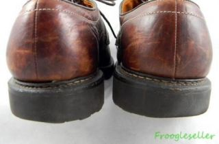 Allen Edmonds Mens Mapleton Bicycle Toe Oxfords Shoes 14 D Brown