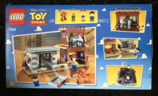 LEGO 7594 Disney Toy Story Woodys Roundup Lego Building Set RARE HTF