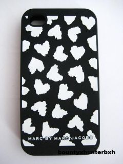 Marc Jacobs 4G iPhone Hearts Logo Soft Case Cover Skin