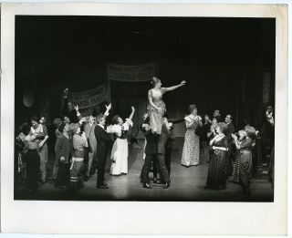 RARE Vintage 1964 Barbra Streisand Broadway Funny Girl Photo by Henry