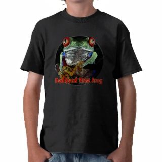 Tropical Red Eyed Tree Frog Junglewalk Tshirts