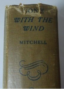 Gone wi e Wind Margaret Mitchell 1936 Printing October