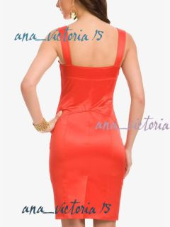Marciano Guess Kara Sexy Corset Dress Black 0 XS