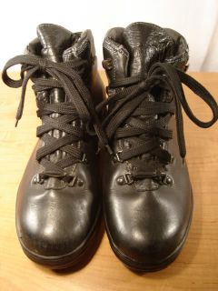 1990s Vintage Sanmarco Gore Tex Leather Hiking Boots Womens 9 5 M