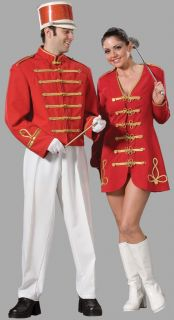 Deluxe Marching Band Major Leader Uniform Costume Mens XXL