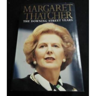 The Downing Street Years Signed Book Margaret Thatcher