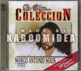 Marco Antonio Solis La Mejor Coleccion 2 CD New Seale