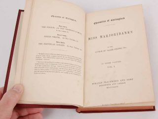 of Carlingford Miss Marjoribanks Margaret Wilson Oliphant Vol I