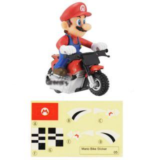 Wii Super Mario Bros Kart Push Along Racer Mario Motor