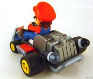 Mario Kart 7 Racing Collection Pull Back Racer 2 Mario