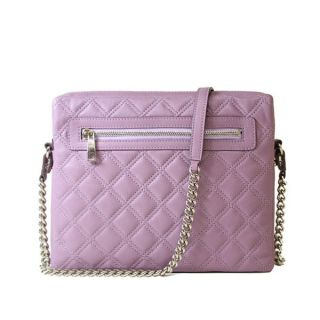 Marc Jacobs Quilted Crossbody iPad Case Violet with Nickel $495