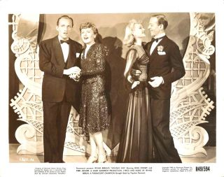 FRED ASTAIRE   BING CROSBY   MARJORIE REYNOLDS   WOW