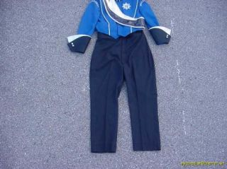 School Marching Band Uniform Halloween Costume Sz32 58