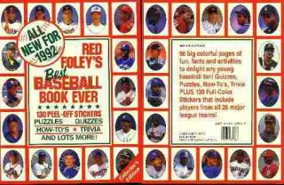 Mark McGwire 67 1992 Red Foley Sticker