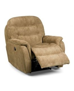 Rigby Fabric Power Recliner Chair, 36Wx 39D x 39H