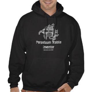 Perpetuum Mobile Inventor funny cool shirt design