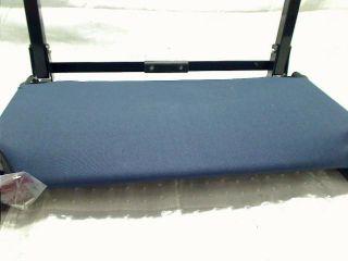 Markwort Patented Deluxe Wide Model Stadium Chair Navy