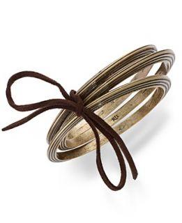 gold tone glass concave pendant bracelet orig $ 75 00 37 49