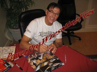 WWE Classic Superstars Rick Martel Signed 2 Pack Proof