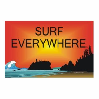 TOP Surf Everywhere Photo Cut Outs